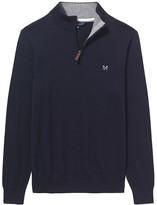 Crew Clothing Classic Half Zip Jumper