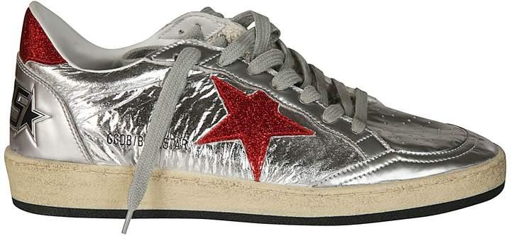 Golden Goose Metallic Star Sneakers