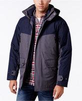 Izod Men's Systems Colorblocked Hooded Jacket