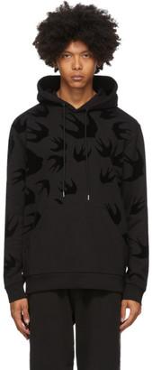 McQ Black Swallows Hoodie