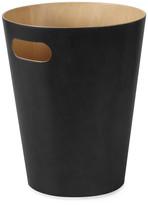 Umbra Woodrow Waste Bin - Black/Natural