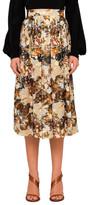 Chloé Deco Cloud Print Skirt