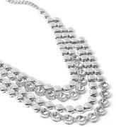 Penningtons Multi-Row Stone Necklace