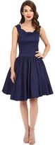 Unique Vintage Roman Holiday Retro Flare Dress