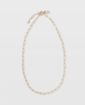 Club Monaco Short Link Necklace