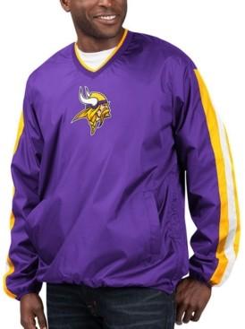 G Iii Sports G-iii Sports Men's Minnesota Vikings Kickoff Pullover Jacket
