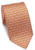 Salvatore Ferragamo House Repeat Silk Tie