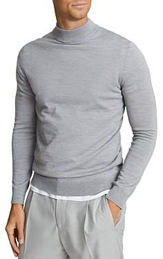 Reiss Slim Fit Wool Turtleneck Sweater