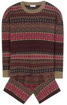 Balenciaga Printed Wool Sweater