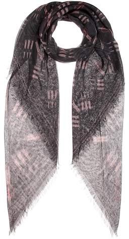 Valentino Fringed scarf