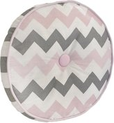 My Baby Sam Chevron Baby in Pink Throw Pillow - Pink