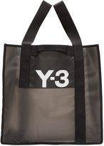 Y-3 Black Beach Tote Bag