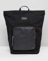 SANDQVIST Misha Cotton Canvas & Leather Backpack