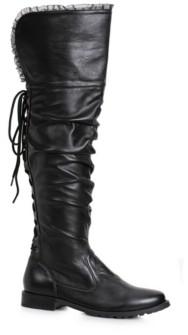 """BuySeasons BuySeason Women's 1"""" Heeled Over The Knee Pirate Boot"""