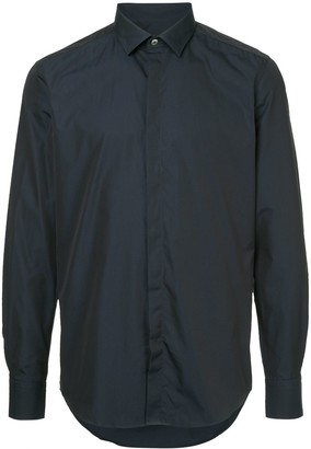 Lanvin shimmer smart shirt