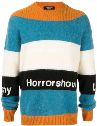 Undercover Striped Knit Jumper