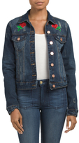 Juniors Jean Jacket With Patches