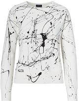 Polo Ralph Lauren Paint-Splatter Fleece Pullover