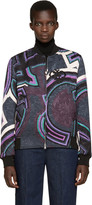 Emilio Pucci Multicolor Patterned Bomber Jacket
