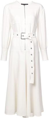 Proenza Schouler Long Sleeve Belted Dress