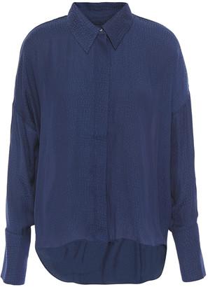 Charli Satin-jacquard Shirt