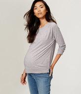 LOFT Maternity Sweatshirt Tee