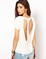 Only Top With Open Back Detail