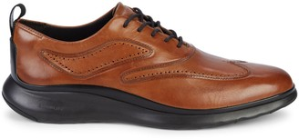 Cole Haan Zerogrand Leather Wingtip Oxford Sneakers