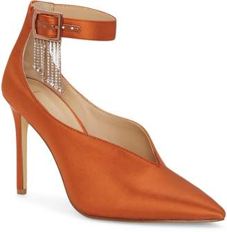 Imagine by Vince Camuto Greer Crystal Chain Pointed Toe Pump