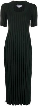 Kenzo Ribbed Knitted Midi Dress