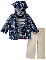 Little Me Anchor 3-Piece Jacket Set (Baby Boys)