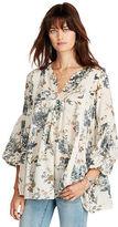 Denim & Supply Ralph Lauren Floral-Print Gauze Tunic