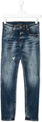 John Richmond Junior Slogan Slim-Fit Jeans