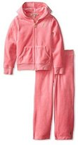 Juicy Couture Little Girls' 2 Piece Jogging Set - (2 Toddler)