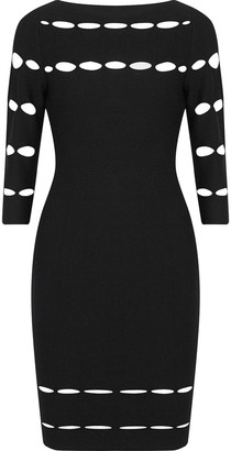 Bailey 44 Grandiose Cutout Stretch-knit Dress