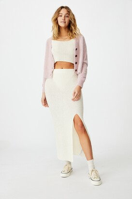 Cotton On Match Me Knit Midi Skirt