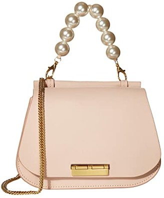ZAC Zac Posen Chantalle Saddle Chain Crossbody (Pink) Handbags