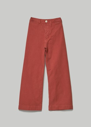 Jesse Kamm Women's Sailor Pant in Paprika Size 2