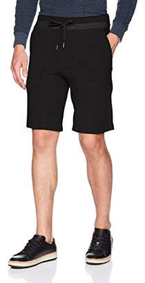 Calvin Klein Jeans Men's Knit Shorts with Tonal Rib Tipping