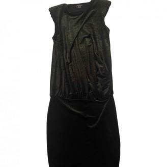 Marciano Green Velvet Dress for Women