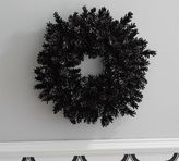 Pottery Barn Preserved Black Pinecone Wreath