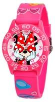 Disney Kid's Minnie Watch - Pink