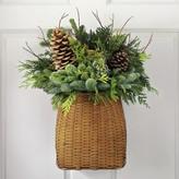 Williams-Sonoma Williams Sonoma Door Basket with Greenery