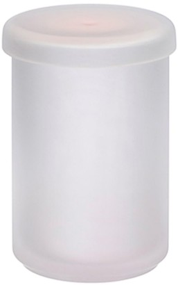 Nude Glass Pigmento Tall Yellow-Sprayed Storage Box