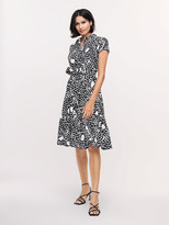 Diane von Furstenberg Zaria Cotton-Poplin Dress