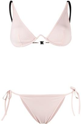 Fendi FF-print reversible bikini set