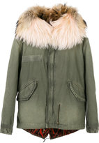 Mr & Mrs Italy - fur-lined parka - women - Cotton/Leather/Polyamide - XXS