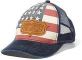 Denim & Supply Ralph Lauren Flag Trucker Hat