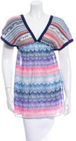 Missoni Sleeveless Patterned Top