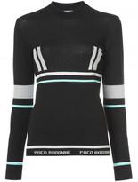 Paco Rabanne long sleeved sweater